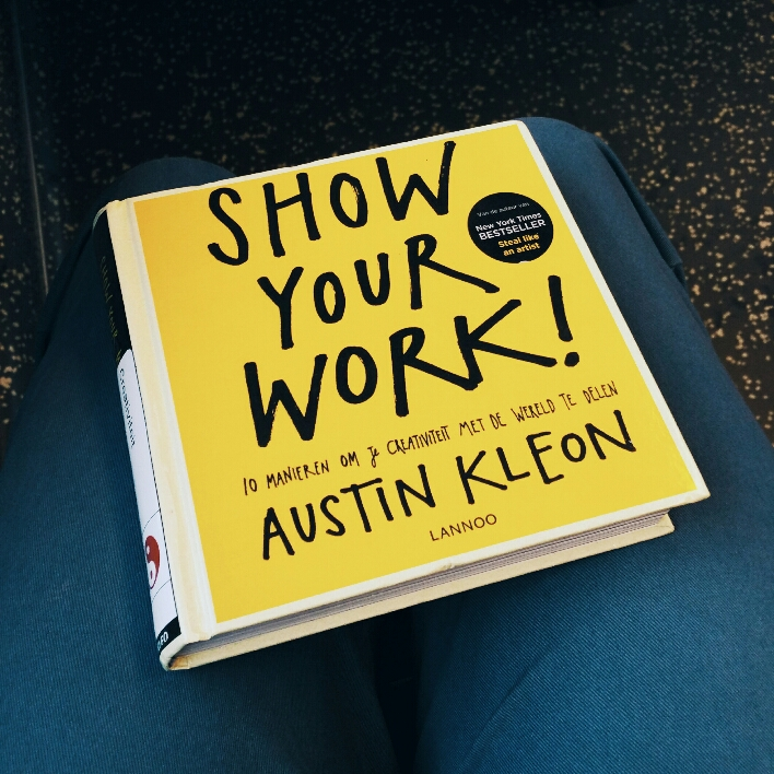 Show you work van Austin Kleon
